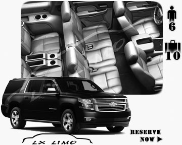 SUV Suburban for hire in Atlantic City