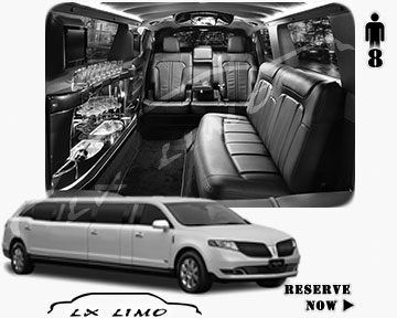 Stretch Wedding Limo for hire in Atlantic City, ON, Canada