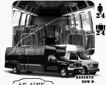 Bus for airport transfers in Atlantic City, NJ